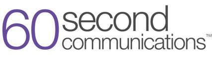 60 Second Communications Logo