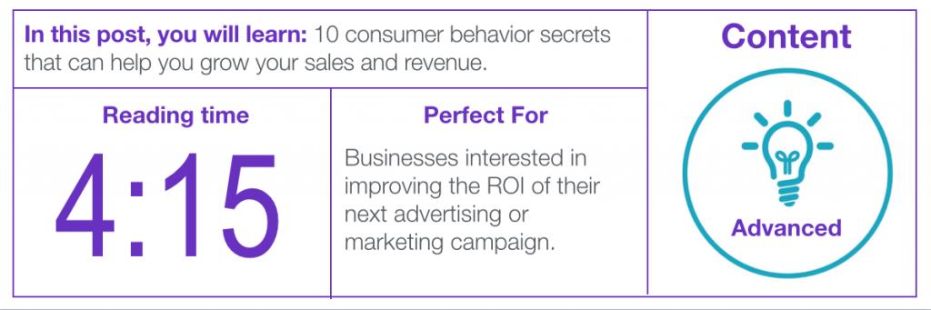 Image of ad agency blog data
