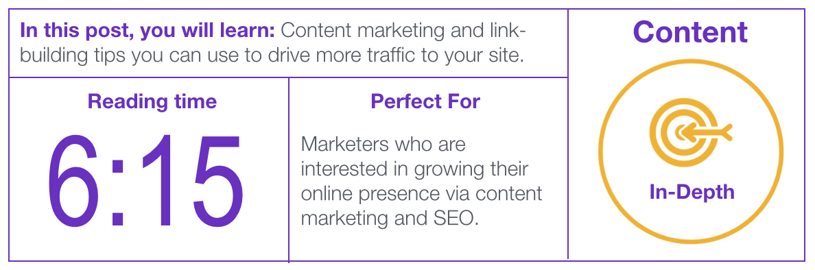Image of content marketing