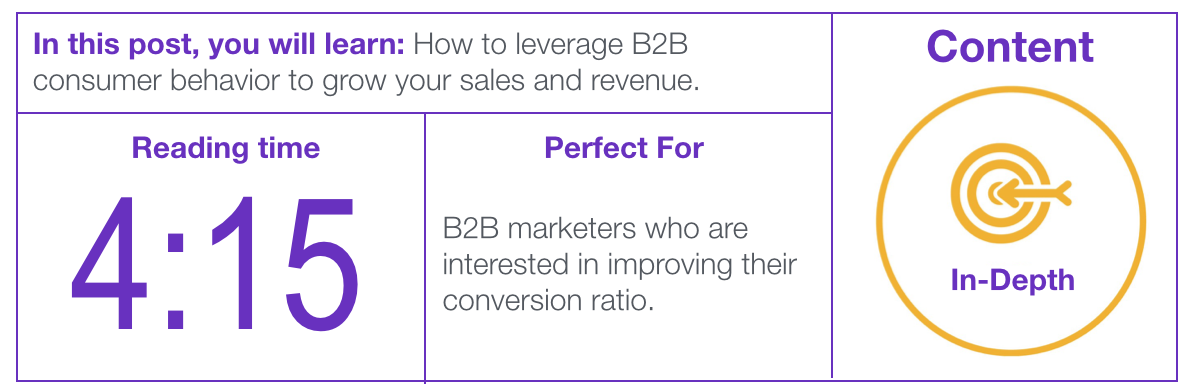 Image of B2B Marketing